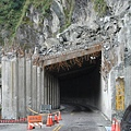 前面已經塌坊的明隧道