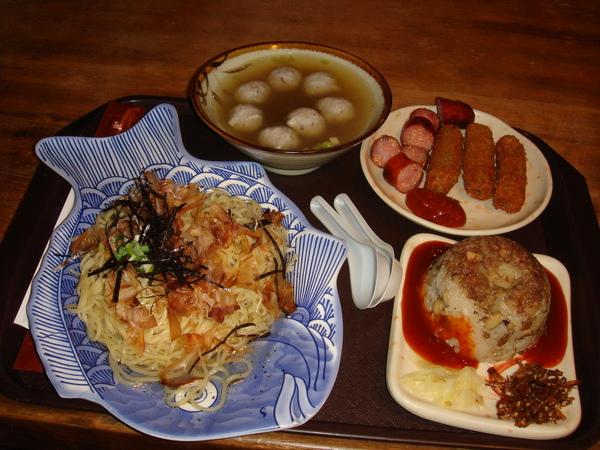 七星柴魚博物館餐點