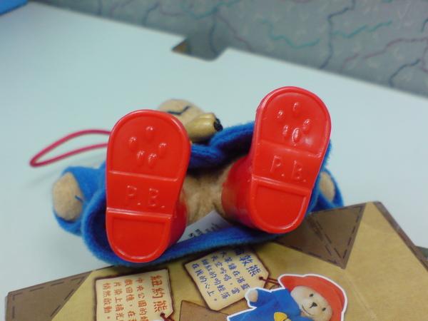 小熊的腳底