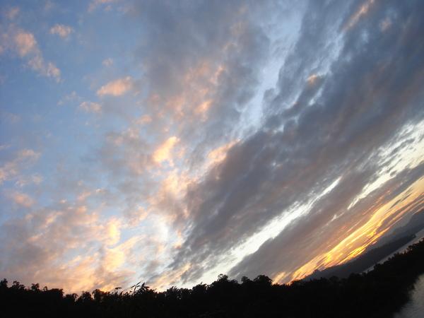 黃昏的日月潭-3