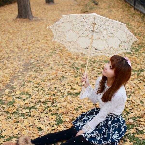 道具-蕾絲傘