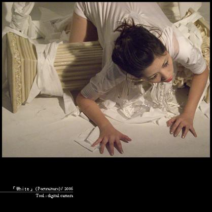 「White」(Portraiture) / 2006