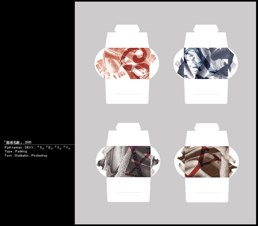 「面紙包裝」, 2006