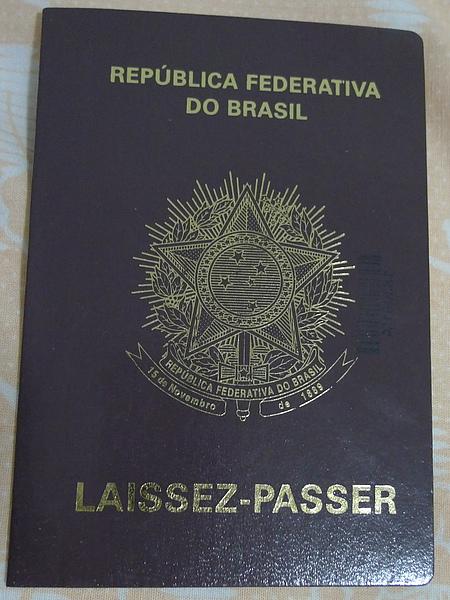 Brasil passport