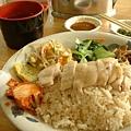 慶城街的海南雞飯