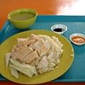 新加坡的海南雞飯