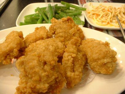 有勁蘭州拉麵的南蠻雞塊