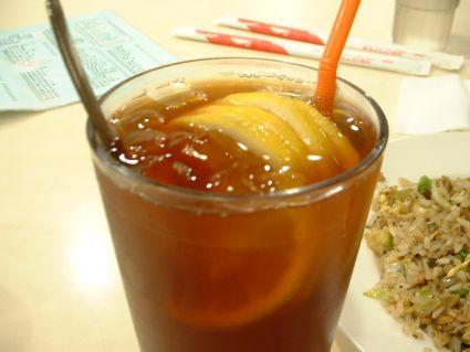 立濠的凍檸茶