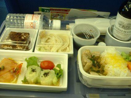 亞細亞的飛機餐