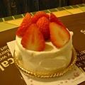 第二名的草莓蛋糕