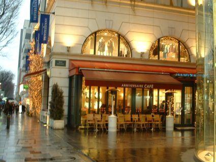 表参道的漂亮咖啡店