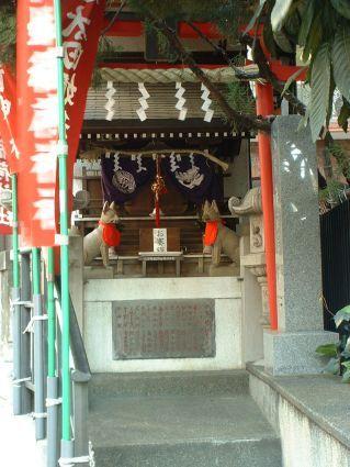 飯店附近的小小狐仙神社