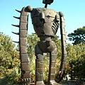 宮崎駿博物館樓上天空之城的機器人