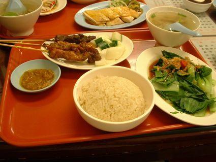 文慶雞沙嗲套餐