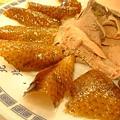 北京樓的北京烤鴨近照