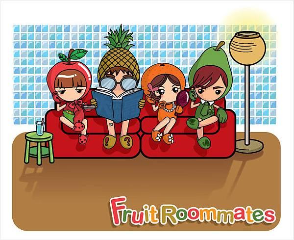 FruitRoommates (2004~2006)