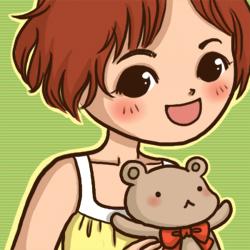 小熊的頭香大頭貼