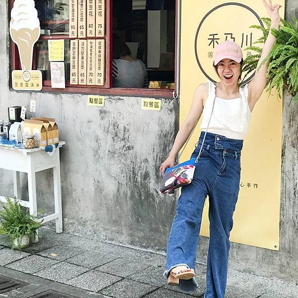 橫式輕巧隨身包穿搭示範(4)