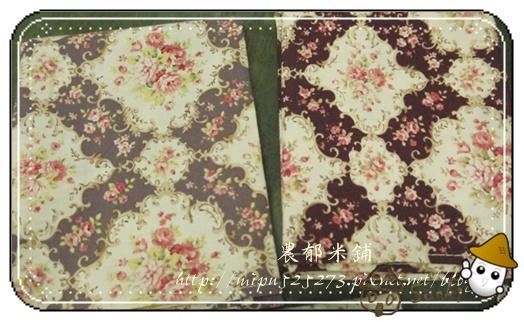 棉布 14 古典花兩色