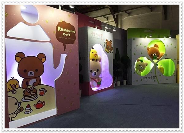 拉拉熊展覽設計4