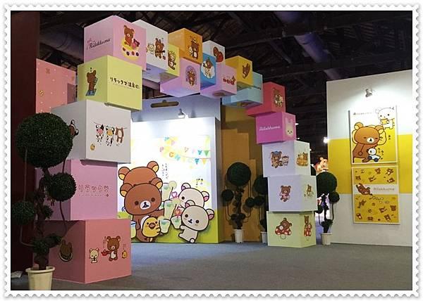 拉拉熊展覽設計3
