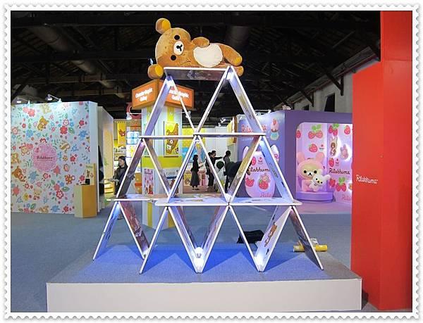拉拉熊展覽設計10