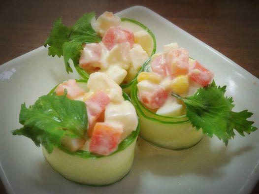 蘋果雞蛋沙拉