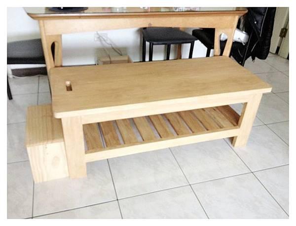 拉筋椅兼餐椅兩用-陳小姐