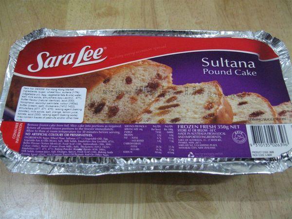 Sara Lee 雪藏蛋糕