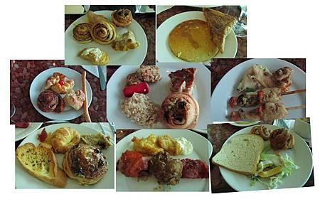 皇冠大飯店的早餐