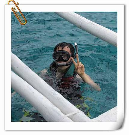 第一天浮潛