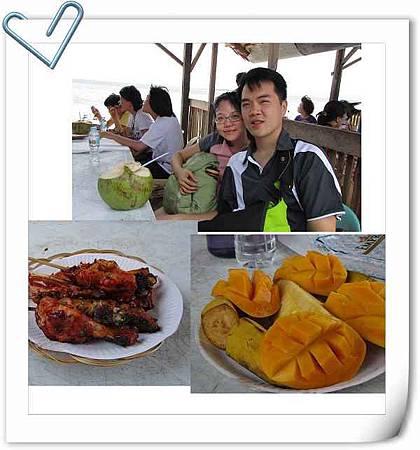 資堂島的午餐