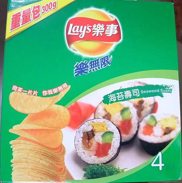 blog 100 Aug Lay's 樂事 海苔壽司口味1.JPG