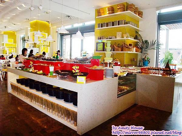 blog 1010316 W飯店 the kitchen table美食02