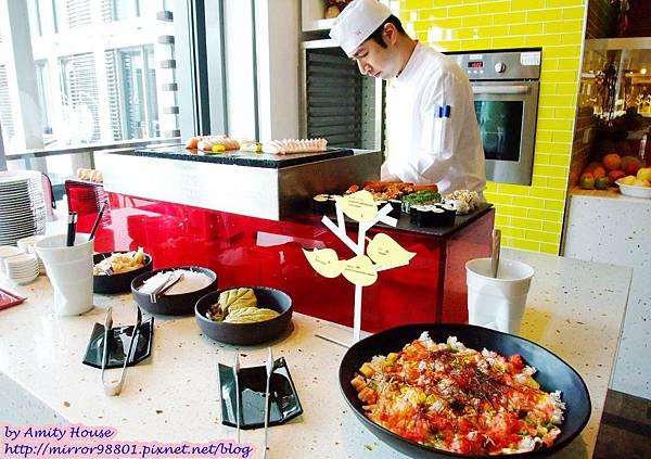 blog 1010316 W飯店 the kitchen table美食03