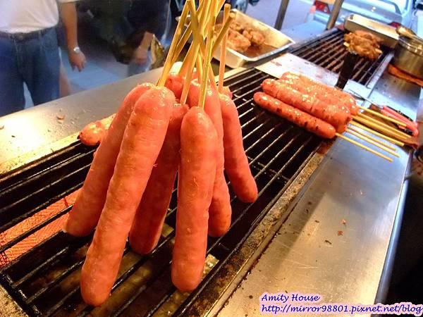 1010917 烏來老街04烏來雅各山豬肉香腸