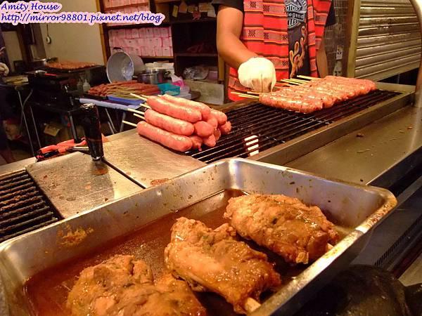 1010917 烏來老街05烏來雅各山豬肉香腸 山豬肉棒棒腿