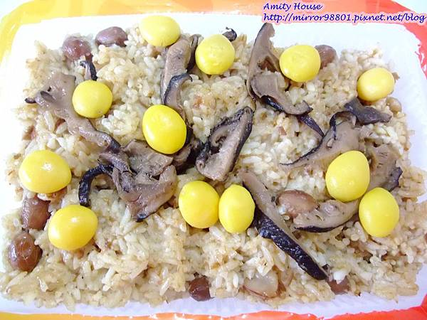 101 Sep 新城彌月油飯09銀杏香菇油飯(素食)