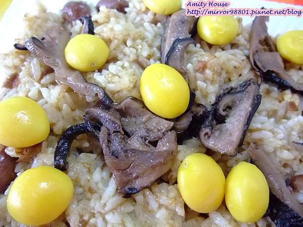 101 Sep 新城彌月油飯11銀杏香菇油飯(素食)