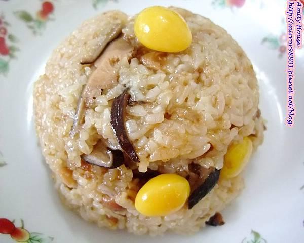 101 Sep 新城彌月油飯13銀杏香菇油飯(素食)