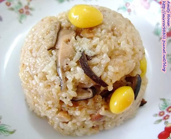 101 Sep 新城彌月油飯14銀杏香菇油飯(素食)