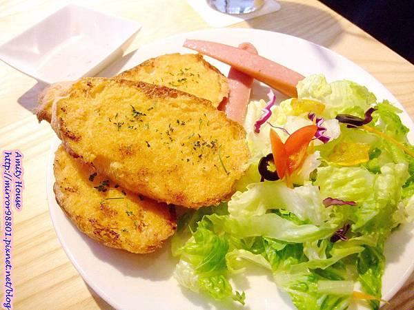 1011006 東區 問號餐廳12明太子麵包
