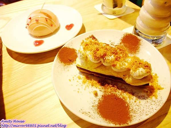 1011006 東區 問號餐廳20粉紅驚奇 香蕉巧克力派