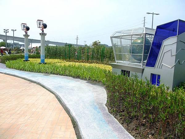 blog 花博 大佳 花圃競賽區 新竹 竹塹迎曦 觀海 賞花趣05.JPG