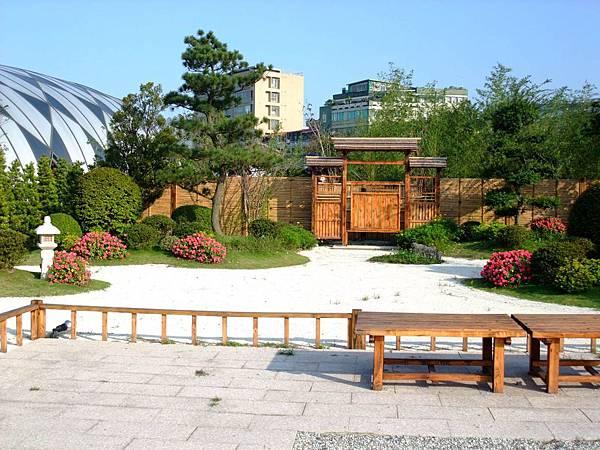 blog 花博 美術 寰宇庭園 日本 遠州之庭-白砂青松4.JPG