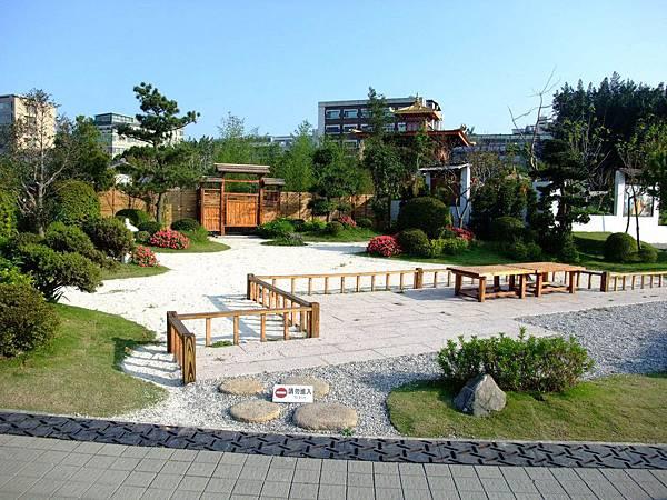 blog 花博 美術 寰宇庭園 日本 遠州之庭-白砂青松1.JPG