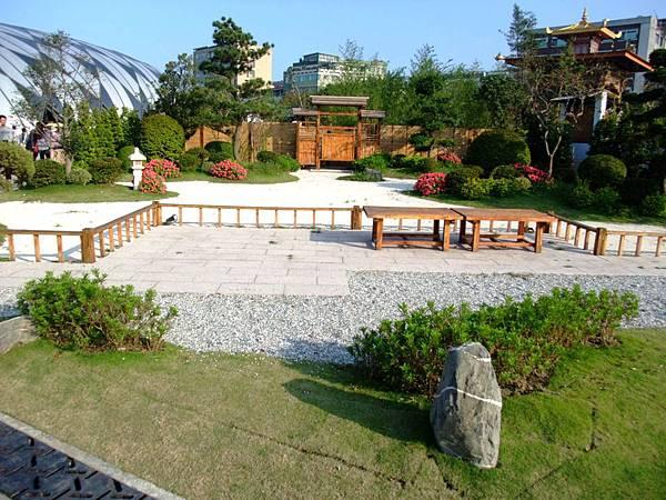 blog 花博 美術 寰宇庭園 日本 遠州之庭-白砂青松2.JPG