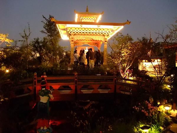 blog 99 Dec 花博 美術 寰宇庭園-不丹04.JPG