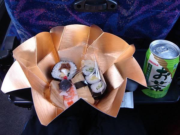 打開,是壽司