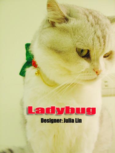 Ladybug‧小瓢蟲 (白色)
